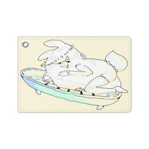 石鹸パスケース(全4色)