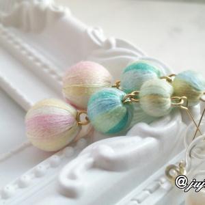 桜、春色 耳飾り (ピアス/ノンホールピアス)