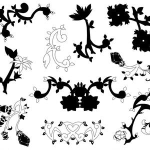 植物系の素材