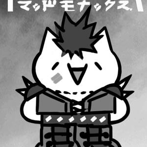 ヒャッハーモナー缶バッジ(ロゴあり)