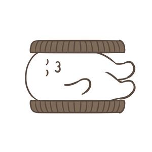 クッキー&クリーム荒巻エコバッグ