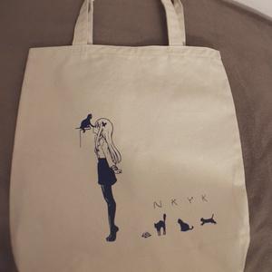 友希那のネコゆきトートバッグ