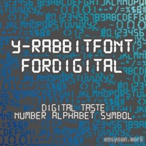 【フリーフォント】Y-RabbitFont-forDigital