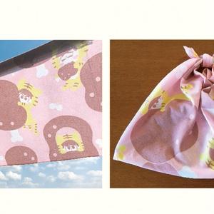 布製タペストリー「とらぴの しゅき♥肉林」