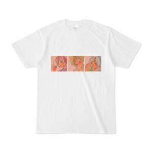 小鬼アナログ画Tシャツ