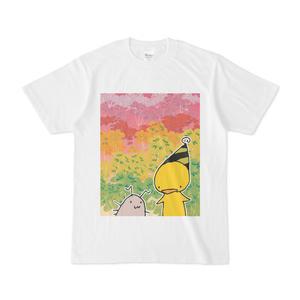 ひよことワラジ虫Tシャツ02