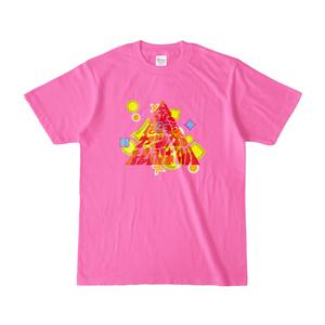 金は有るヤツが払えばいいTシャツ(ピンク)