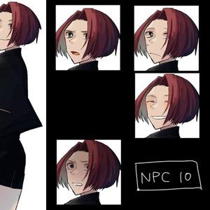 NPCフリー立ち絵(女性)
