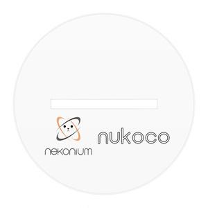 仮想通貨Nekonium nukocoたん アクリルフィギュア
