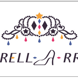 CINDRELL-A-RRANGE ロゴデザインフェイスタオル