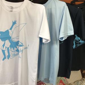 #チルノ影絵Tシャツ