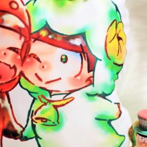 【完売】【おそチョロ 】ケモ松クッション
