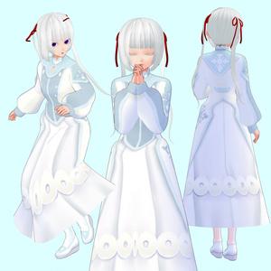 (無料有)聖女ドレスセット