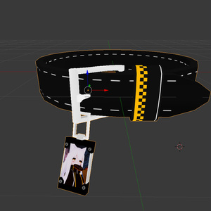 写真入れ付き首輪