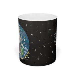 月の妖鳥マグカップ