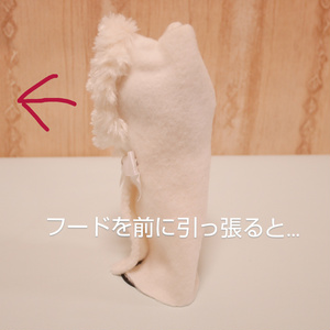 🎀推し色リボン🎀のファーケープ(L