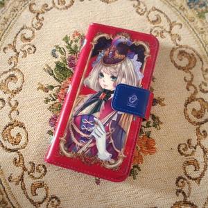 【iPhone全機種対応】手帳型iPhoneケース【祝装エレナ】