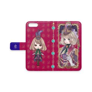 【iPhone7plus/8plus】手帳型iPhoneケース【祝装エレナ】