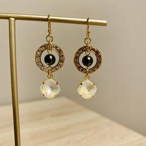 宝石の国カンゴーム月verイメージ耳飾り