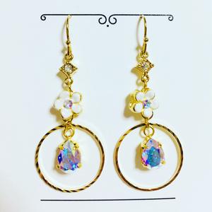 宝石の国ダイヤモンドイメージガーリー耳飾り