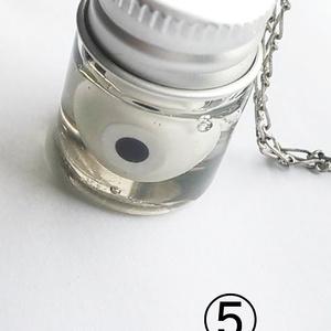 眼球の瓶詰デスクチャーム