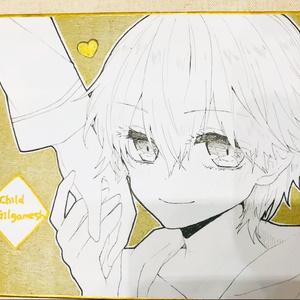 リクエスト色紙【直筆/アナログ】