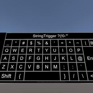 VRChatワールド用パスワードトリガー(StringTrigger)[VRChat]