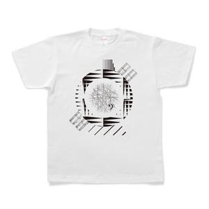 図形楽譜Tシャツ「神様のコンパス」