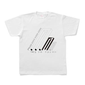 図形楽譜Tシャツ「星のぬけがら」