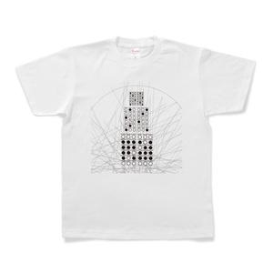 図形楽譜Tシャツ「生者の更新」