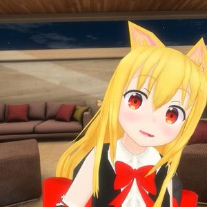 アンナちゃん向け 猫耳としっぽ