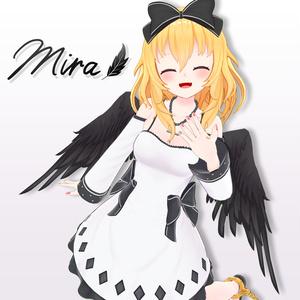 オリジナル3Dモデル「ミラ」