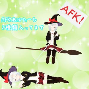 【オリジナル3Dモデル】魔女っ子アイ