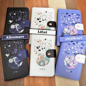 Miwashiba 汎用型手帳スマホカバー