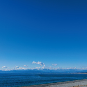 沼津の海と。