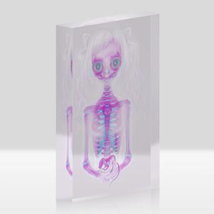 "Acrylic ""dissolve"""