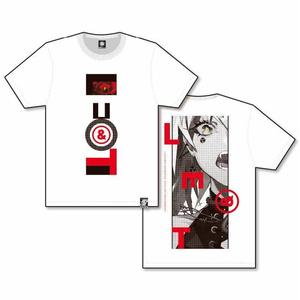 LAM初個展「目と雷」EYES & THUNDERBOLT T-shirts/WHT