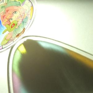 ネオン=ノストラード ステンドグラス風アクリルキーホルダー