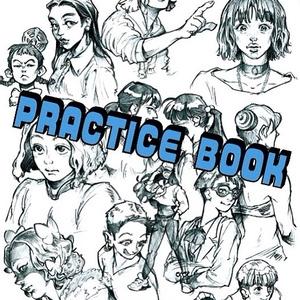 ドローイング本「PRACTICE BOOK」