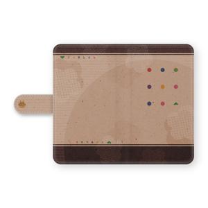 Android汎用 手帳型スマホケース(おそ松さん)