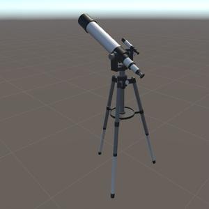 【VRChat向け】望遠鏡
