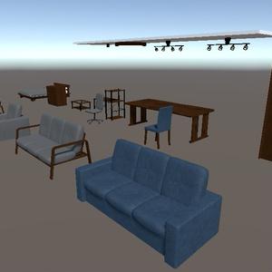 VRChat向け家具セット(4)