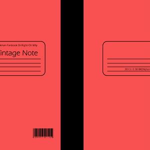 【二次創作】Vintage Note【再録集】