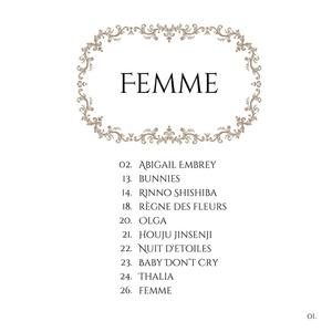 FEMME by az