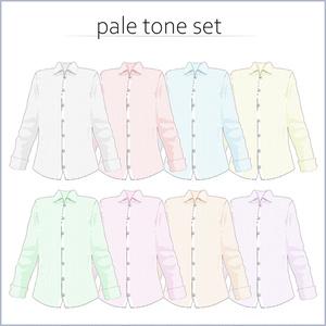 【#VRoid】Yシャツ32種【セルルック対応】