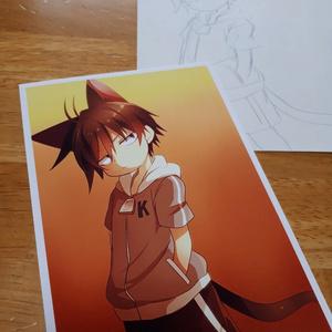 【ポストカード】擬クロちゃん