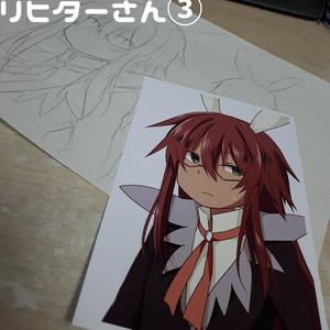 【ポストカード】リヒターさん