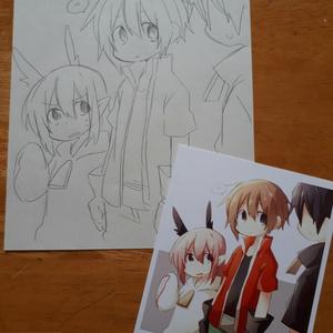 【ポストカード】せんゆ絵
