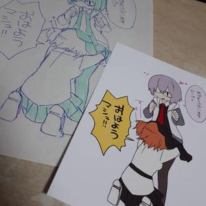 【ポストカード】FGO絵