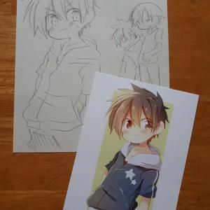 【ポストカード】オリジナル絵